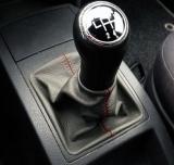 Cuffia leva cambio Volkswagen Polo 9 vera pella antracite