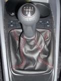 Seat Ibiza 6J - Cambio Nero - Cucitura Rossa