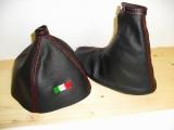 Alfa Romeo 159 - Cambio e Freno Nero - Tricolore Ricamato