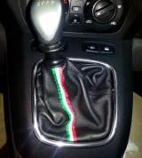 Fiat Idea cuffia cambio pelle nera