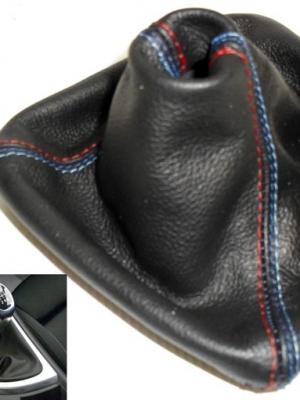 bmw e87 rivestimento cuffia Cambio Nero