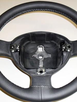rivestimento volante Fiat Panda Grigio